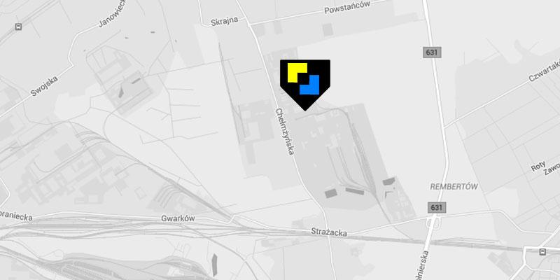 Mobilbet - mapa dojazdu i lokalizacja